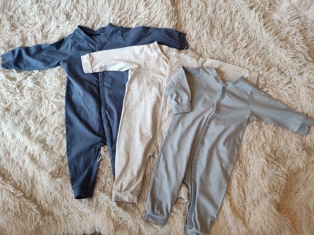Paczka ubrań body bluzka spodnie pajace chłopiec 62-74 h&m smyk kenzo