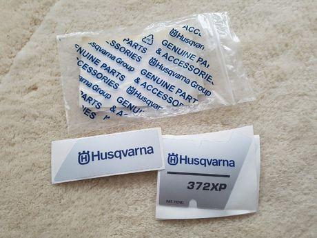 Naklejka Pokryw Husqvarna 372XP HUSQVARNA 372XP Komplet