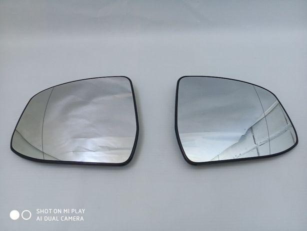 Европа! Оригинал! Стекло вкладыш зеркала Ford Focus 3 с подогревом !