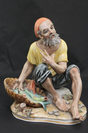=ARTexpert= Figurka Dresden RYBAK proj. S.Math