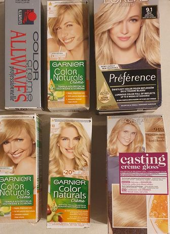 Farby do włosów L'ORÉAL, Garnier, Allwaves