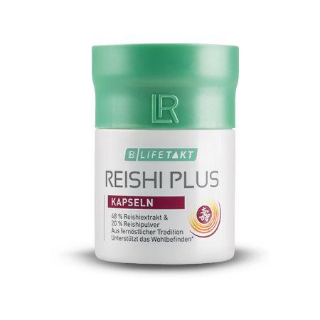 Reishi Plus em cápsulas