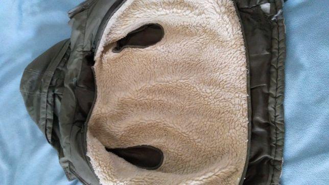 Куртка для хлопчика зимова з кожушком всередині, який знімається