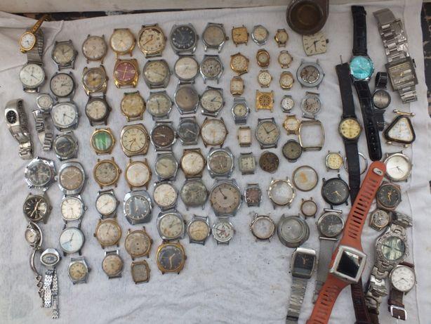 Zegarki radzieckie uszkodzone