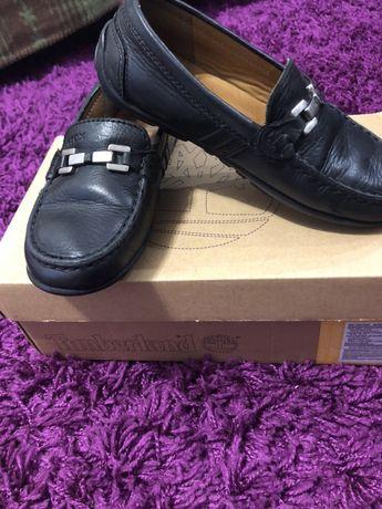 Шкіряні модні туфлі Geox 31р макасіни туфли