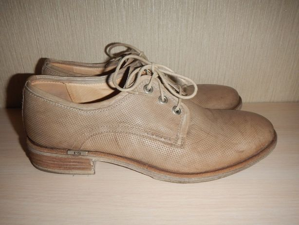 Кожаные туфли броги nero giardini р.39(25,5см)