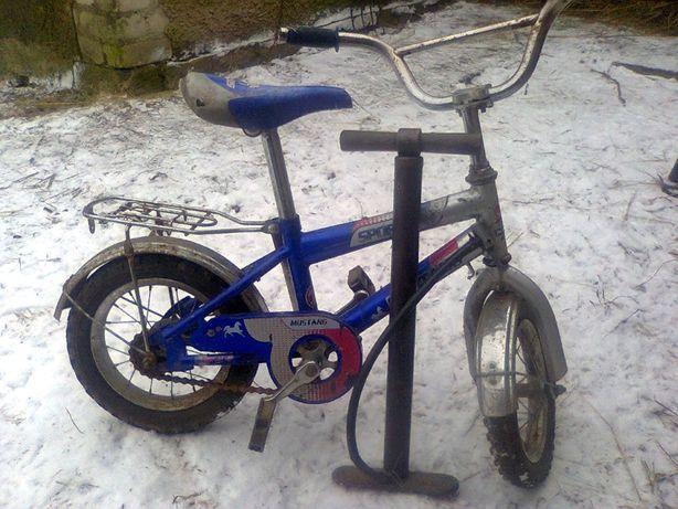 велосипед дитячий МУСТАНГ12