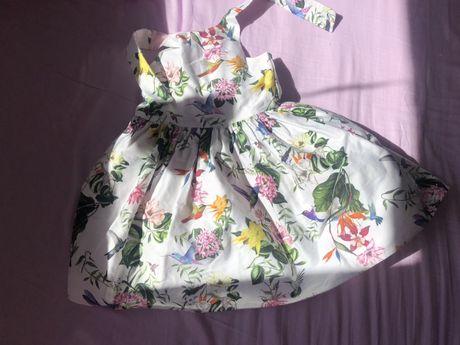 Przepiękna sukienka w kwiaty