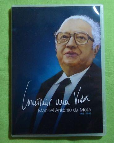 """DVD """" Construir uma Vida """" Manuel Antonio da Mota"""