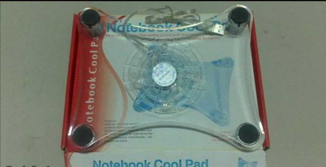 Base refrigeradora 1 fan - leds azuis