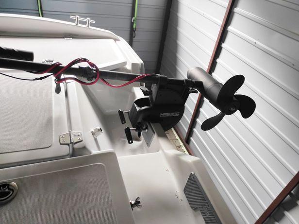 Silnik elektryczny do łodzi wędkarskiej + akumulatory
