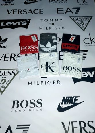 Wyprzedaż! Koszulki Premium Calvin Klein Hugo Boss Tommy Hilfiger