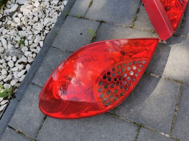 Lampa lewa tył tylna Peugeot 207 cc cabrio 2007r.