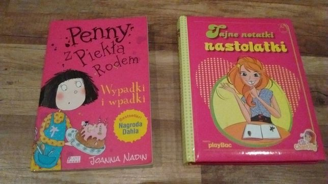 Książka dla dzieci Penny z piekła rodem+pamiętnik