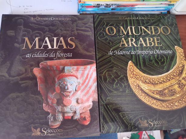 Livros das Grandes Civilizações: O MUNDO ÁRABE e MAIAS