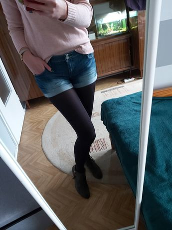 Jeansowe spodenki