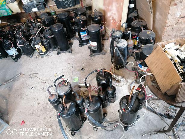 Компрессор на кондиционер (тепловой насос)
