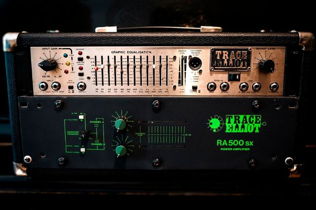Обмен! Басовый комплект Trace Elliot GP12X Silver Edition + RA500SX