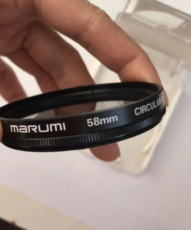 Светофильтр на объектив Marumi c-pl 58 mm