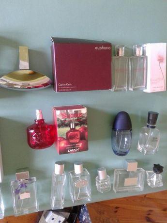 Puste flakony, po perfumach oryginalnych, dla kolekcjonerów
