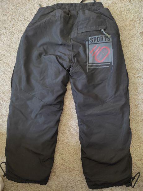 Зимние утепленные штаны на 3 года