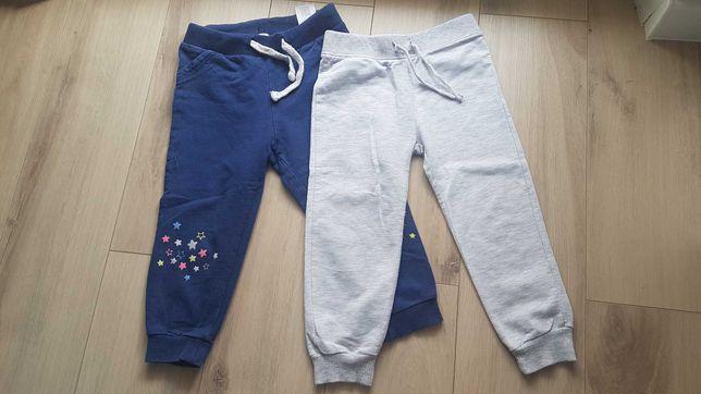 Spodnie dresowe komplet spodni rozmiar 86 / 92