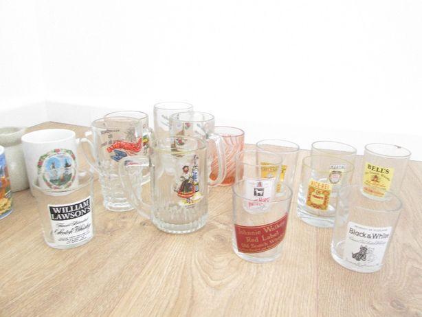 Lote copos e canecas vidro.