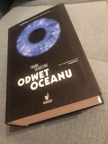 Książka Odwet Oceanu Frank Schatzing nowa
