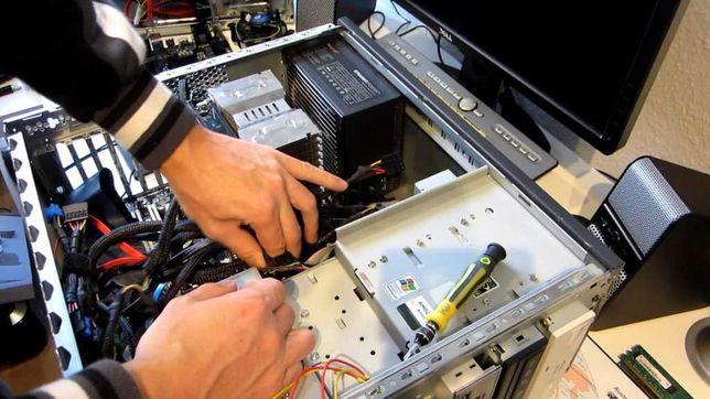 Ремонт компьютеров, ноутбуков, моноблоков, нетбуков на дому