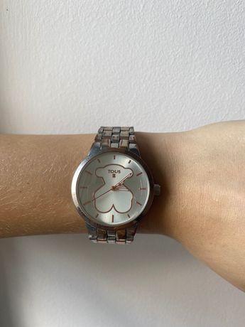 Złoty zegarek Tous z misiem