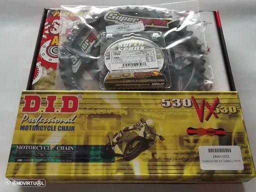 Kit Transmissao corr. DID VX X-Ring Honda CB 900 hornet, CBR 919