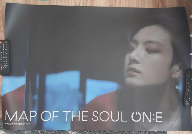 Kpop BTS Jungkook JK plakat poster Map of the Soul ON:E MOTS photobook