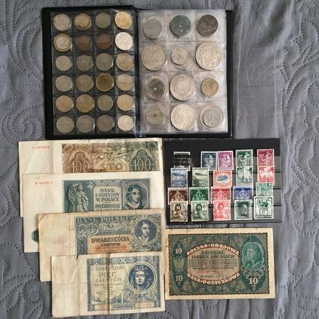 Monety i Banknoty obiegowe i stare - BIORĘ WSZYSTKO ;)