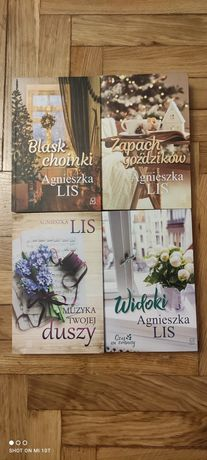 Nowe książki Agnieszka Lis komplet