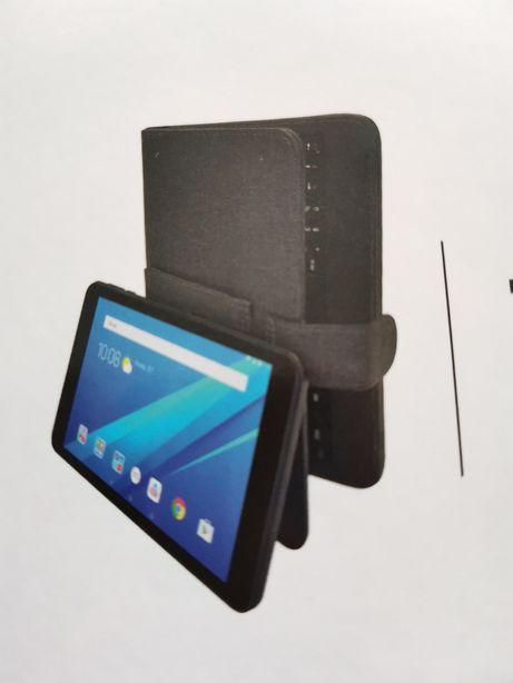 """Tablet 8"""" Android com capa e teclado, como novo!"""