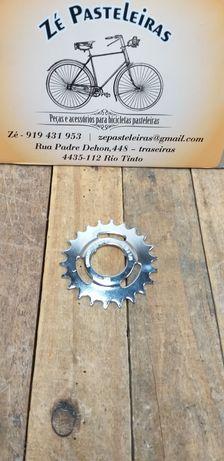 Roda dentada Sturmey Archer 22 dentes Nova para bicicleta pasteleira