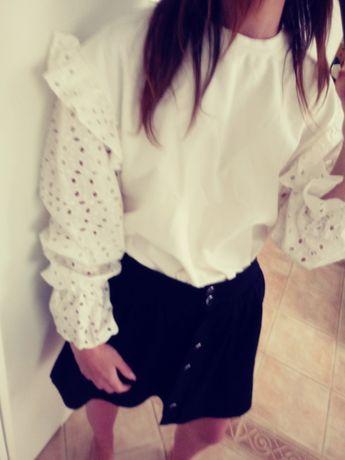 Mega modna bluza hafty bufki