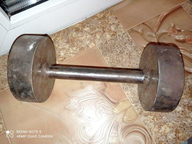 Гантеля ( Ручная работа ) 5 кг. Сталь