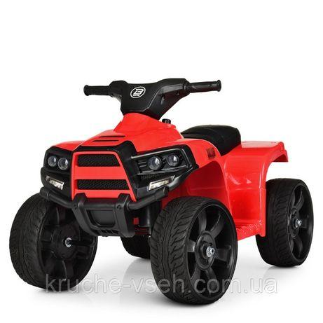 Детский электромобиль Квадроцикл M 3893, SATAIC, кожа, EVA-резина