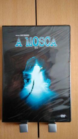 Dvd A MOSCA - PLASTIFICADO - David Cronenberg (1986) Entrega IMEDIATA