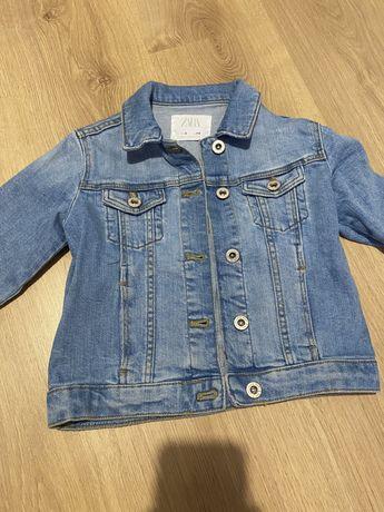джинсовая куртка zara 116 p.