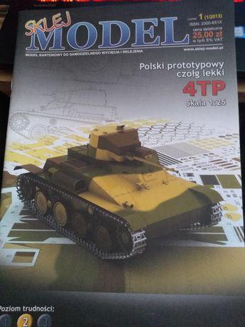 Polski prototypowy czołg lekki 4TP