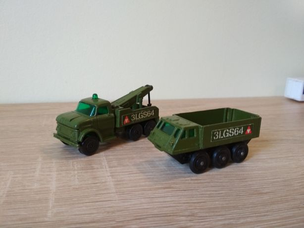 Matchbox TP-16 Wreck Truck and Alvis Stalwart