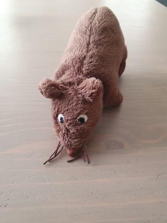 Mysz myszka Ikea gosig maskotka pluszak brązowa