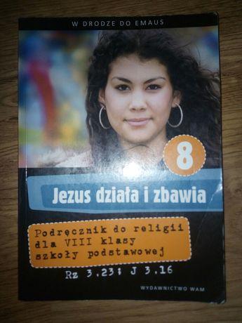 Sprzedam książkę do religii dla klasy 8 szkoły podstawowej.