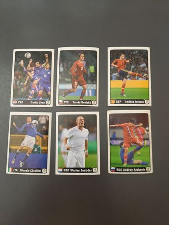 Panini Euro 2012 - 6 Cromos Especiais