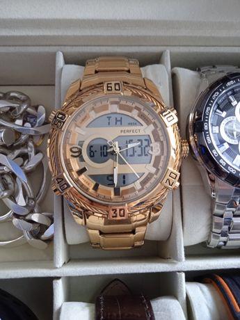 Złoty zegarek Perfect