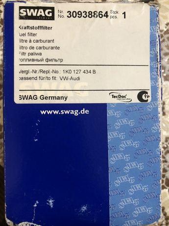 Топливный фильтр SWAG No. 30938864 Volkswagen,Audi,Seat,Skoda