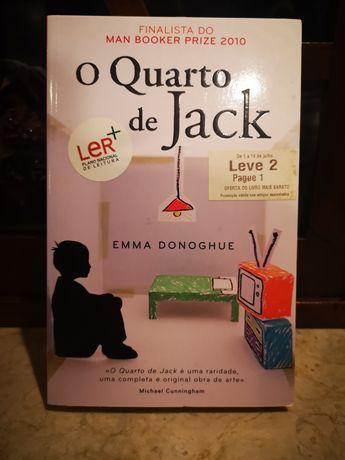 """Livro """"O quarto de Jack"""""""