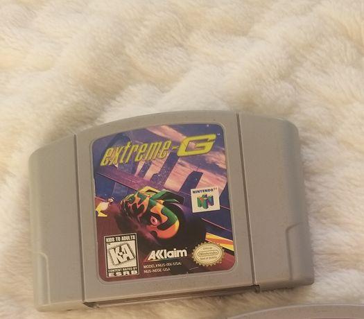 gra EXTREME-G Nintendo 64